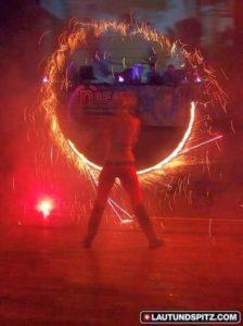 Feuershow für Niedersachsen